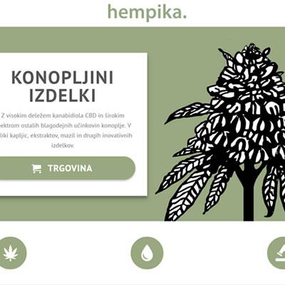 Hempika.si spletna trgovina in spletni marketing