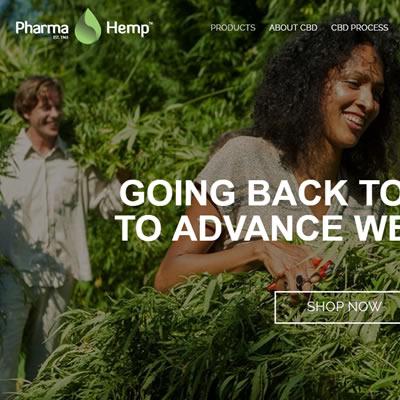 pharmahemp.si - spletni marketing (SEO, Social Media, E-mail, Remarketing)