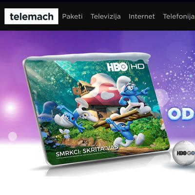 telemach.si - Facebook remarketing