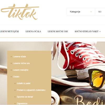 Tiktok.si - spletna trgovina in spletni marketing