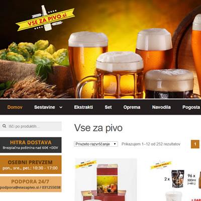 Vsezapivo.si - spletni marketing